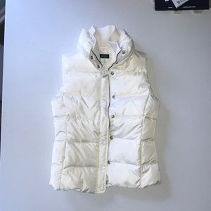 J. Crew Puffer Vest - down filled NWT XS